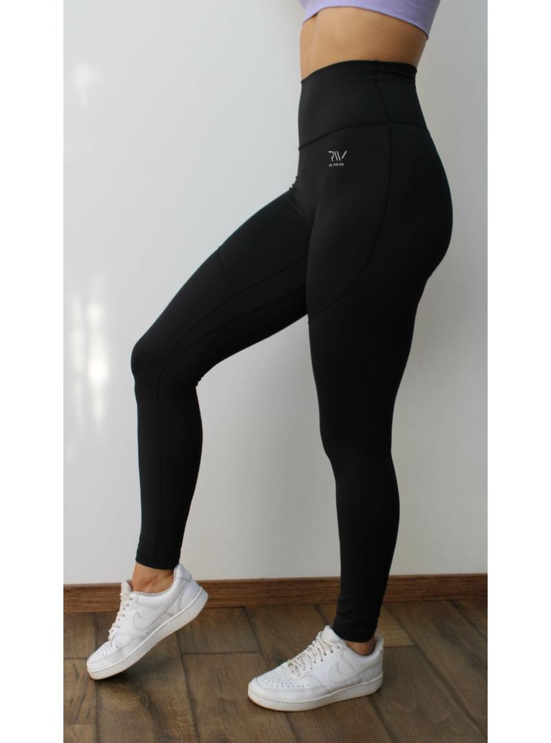 fekete fitness nadrág