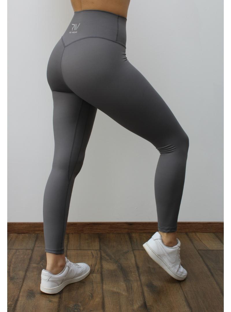 ujrahasznositott - szurke - fitness - leggings