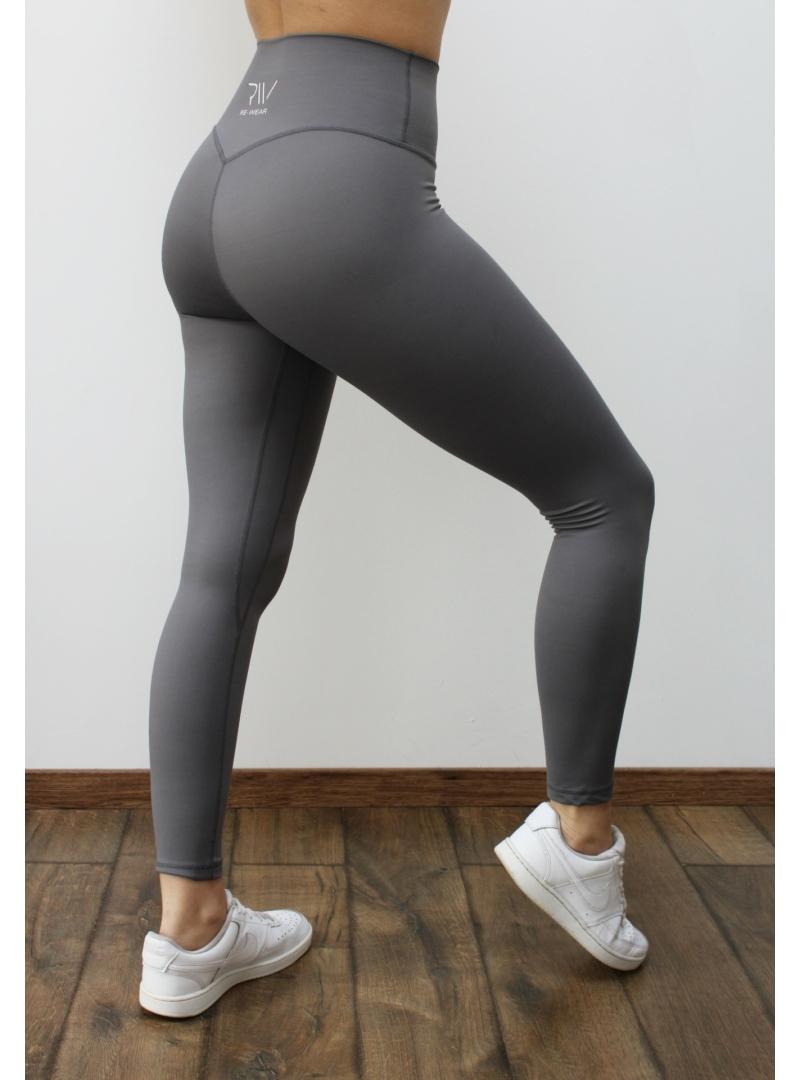 újrahasznosított szürke fitness leggings
