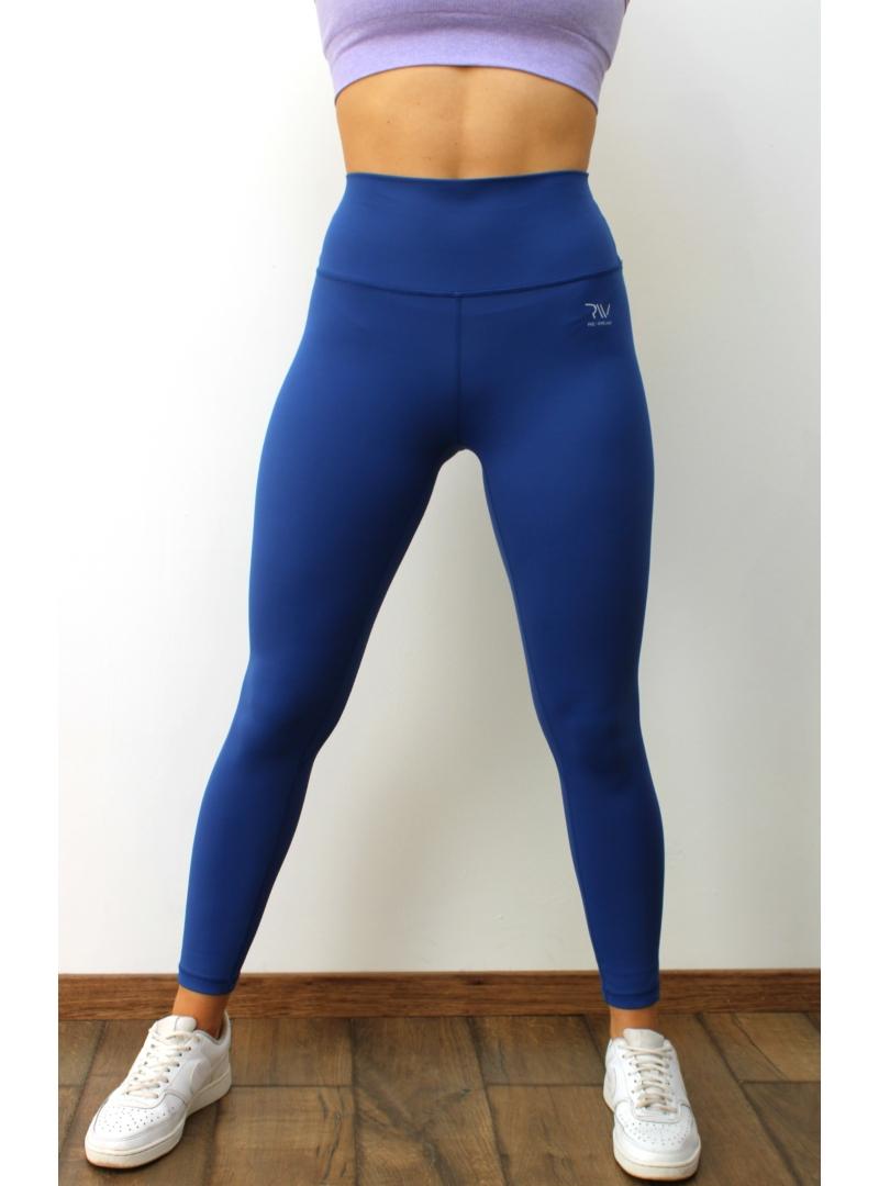 Kek -  fitness - leggings - ujrahasznositott