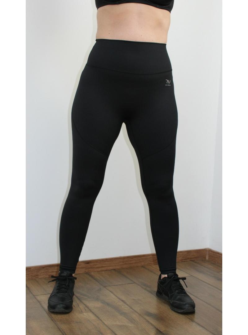 fekete fitness leggings