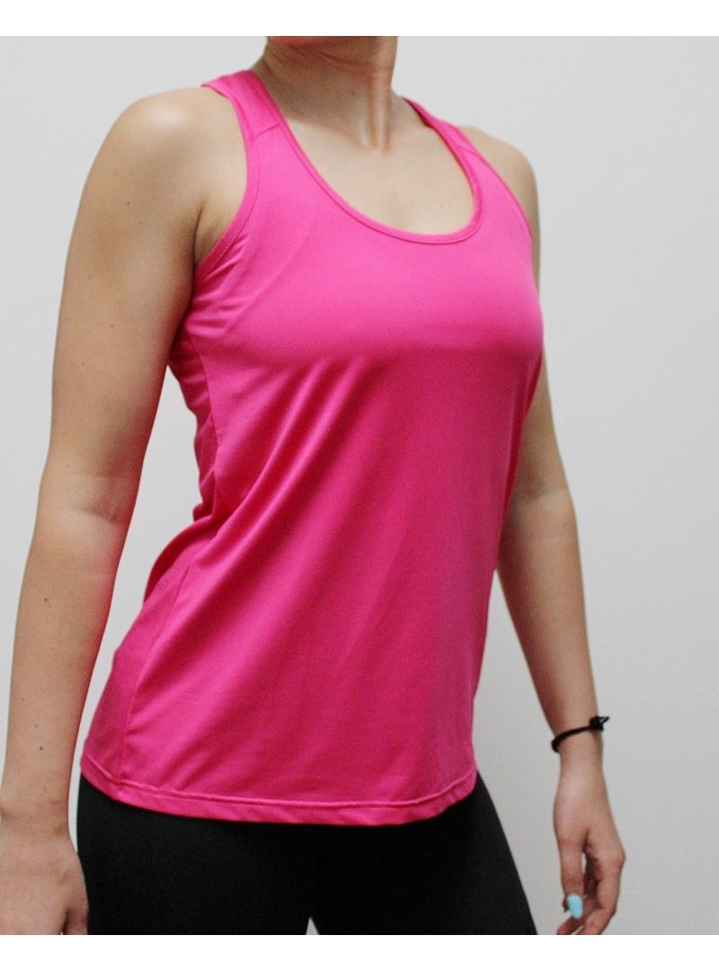 újrahasznosított rózsaszín sport felső